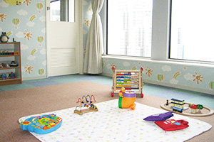 Photo of childcare room