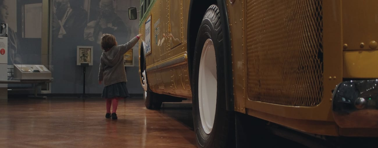 Inside Ford Museum: Rosa Parks Bus